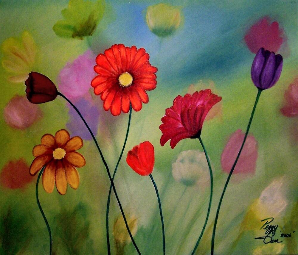 Enchanted Garden by Peggy Garr