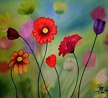 Enchanted Garden by Peggy Garr