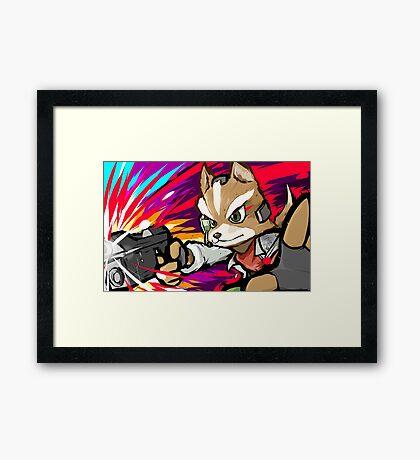 Fox | Blaster Shot Framed Print