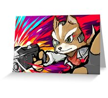 Fox | Blaster Shot Greeting Card
