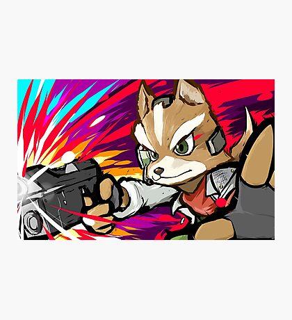 Fox | Blaster Shot Photographic Print