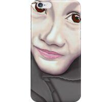 Girl wearing a hijab iPhone Case/Skin