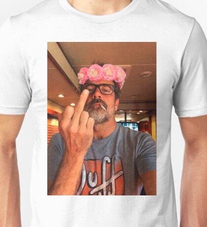 Jeffrey Dean Morgan Flower Crown Unisex T-Shirt