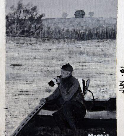 Old Man River Sticker