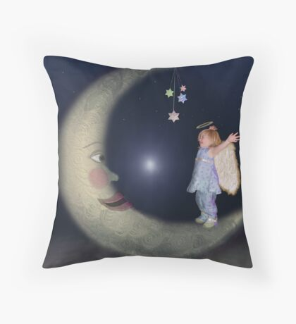 Reach For The Stars - Version 2 Throw Pillow