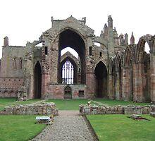 Dryburgh Abbey by blod