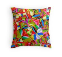 Colored Markers 1 Throw Pillow
