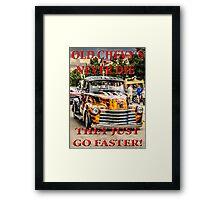 Old Chevys Never Die Framed Print