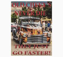 Old Chevys Never Die by Tony  Bazidlo