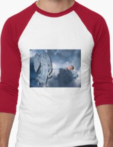 °♥ ˚ • ★FOR UNTO US A CHILD IS BORN>AVAILABLE AS PICTURE -CARD OR TRAVEL MUG °♥ ˚ • ★ Men's Baseball ¾ T-Shirt