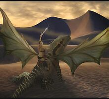 Pernese Dragon by Cliff Vestergaard