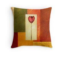 Tantalizing Tulips Throw Pillow