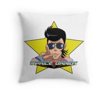 """BANG"" Space Dandy Throw Pillow"