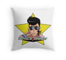 """BANG"" Space Dandy Throw Pillow"