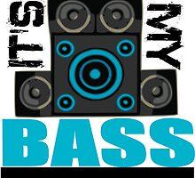 DJ Pon-3: Bass Cannon by holycrow