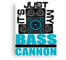 DJ Pon-3: Bass Cannon Canvas Print