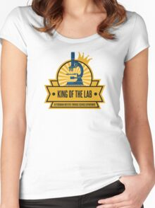 Jeffersonian's King of the Lab! Women's Fitted Scoop T-Shirt
