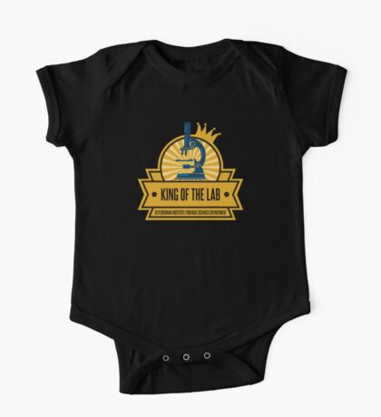 Jeffersonian's King of the Lab! One Piece - Short Sleeve