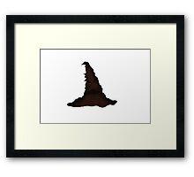 Harry Potter Sorting Hat Framed Print
