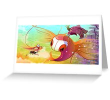11. Lookout!: Fallen Flight Greeting Card