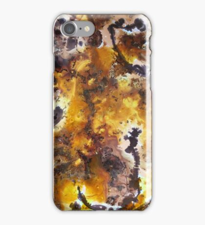 Earthworks abstract iPhone Case/Skin