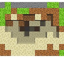 Pixel Mining Play Area 2 Photographic Print