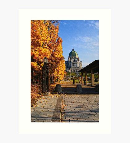 Oratoire Saint-Joseph du Mont-Royal (Saint Joseph's Oratory of Mount Royal) - no.5 Art Print