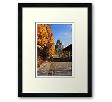 Oratoire Saint-Joseph du Mont-Royal (Saint Joseph's Oratory of Mount Royal) - no.5 Framed Print
