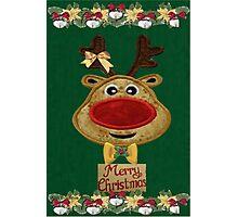 A Reindeer card Photographic Print