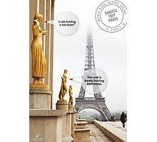 Notes on Paris Photographic Print