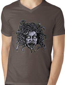 Medusa Gorgon Mens V-Neck T-Shirt