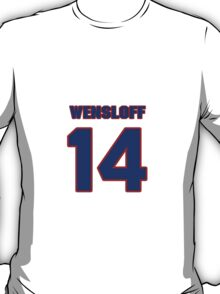 National baseball player Butch Wensloff jersey 14 T-Shirt