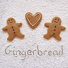 Gingerbread men by Sally Kate Yeoman