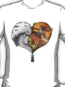 Love and Hate Tardis T-Shirt