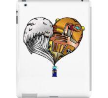 Love and Hate Tardis iPad Case/Skin
