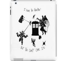 Tardis and Friends iPad Case/Skin