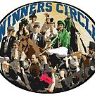 Horse Racing - The Winners Circle by Ginny Luttrell