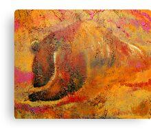 The Cave Bear Canvas Print