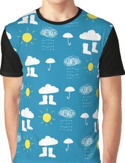 Rain rain... a rainy day Graphic T-Shirt