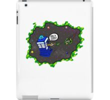 Tardis VS Delorean iPad Case/Skin