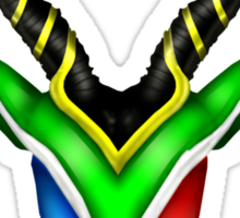 South African Springbok Sticker
