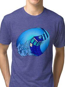 Timey Wimey Tardis Tri-blend T-Shirt