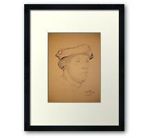 Hans Holbein the Younger - copy Framed Print