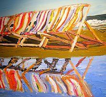 Deckchairs by gillsart