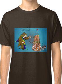 Good Boy, Bad Dalek Classic T-Shirt