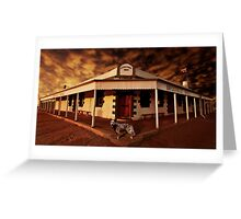 Birdsville Hotel Greeting Card