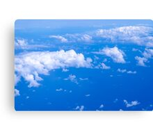 Over clouds Canvas Print