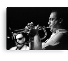 Flugel Horn Canvas Print