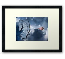 °♥ ˚ • ★FOR UNTO US A CHILD IS BORN>AVAILABLE AS PICTURE -CARD OR TRAVEL MUG °♥ ˚ • ★ Framed Print