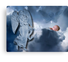 °♥ ˚ • ★FOR UNTO US A CHILD IS BORN>AVAILABLE AS PICTURE -CARD OR TRAVEL MUG °♥ ˚ • ★ Canvas Print
